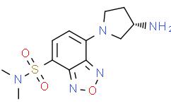 (S)-(+)-DBD-Apy [=(S)-(+)-4-(N,N-二甲氨基磺酰)-7-(3-氨基吡咯烷-1-基)-2,1,3-苯并恶二唑]