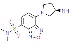 (R)-(-)-DBD-Apy [=(R)-(-)-4-(N,N-二甲基氨基磺酰基)-7-(3-氨基吡咯烷-1-基)-2,1,3-苯并恶二唑]