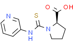 (R)-1-(3-吡啶基硫代氨甲酰基)吡咯烷-2-甲酸