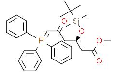 (3R)-叔丁基二甲硅氧基-5-氧代-6-三苯基膦烯己酸甲酯