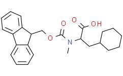 (S)-2-((((9H-Fluoren-9-yl)methoxy)carbonyl)(methyl)amino)-3-cyclohexylpropanoicacid