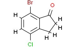 7-Bromo-4-chloro-2,3-dihydro-1H-inden-1-one