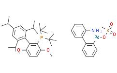 甲磺酸2-二 - 叔丁基膦基-3,6-二甲氧基 - 2'-4'-6'-三 - 异丙基-1,1'-联苯)(2'-氨基-1,1'-联苯-2-基)钯(II)