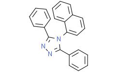 4-(1-萘基)-3,5-二苯基-1,2,4-三唑