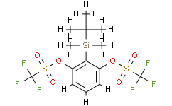 2-叔丁基二甲基硅烷基-1,3-亞苯基雙(三氟甲磺酸酯)