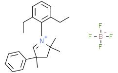 1-(2,6-Diethylphenyl)-2,2,4-trimethyl-4-phenyl-3,4-dihydro-2H-pyrrol-1-ium Tetrafluoroborate  1-(2,6-二乙基苯基)-2,2,4-三甲基-4-苯基-3,4-二氢-2<i>H</i>-吡咯-1-鎓四氟硼酸盐