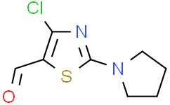4-氯-2-(1-吡咯烷)-5-噻唑甲醛
