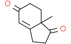 (R)-(-)-2,3,7,7a-四氢-7a-甲基-1H-茚-1,5-二酮