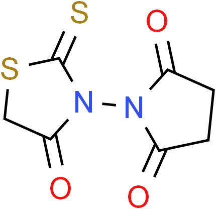 1-(4-Oxo-2-thioxo-1,3-thiazolan-3-yl)dihydro-1H-pyrrole-2,5-dione