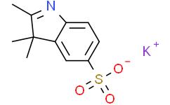 2,3,3-三甲基吲哚-5-磺酸钾盐