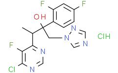 3-(6-氯-5-氟嘧啶-4-基)-2-(2,4-二氟苯基)-1-(1H-1,2,4-三唑-1-基)-2-丁醇盐酸盐