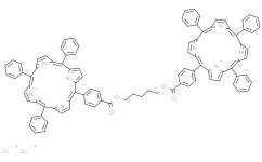 五亞甲基雙[4-(10,15,20-三苯卟吩-5-基)苯甲酸]二鋅(Ⅱ)