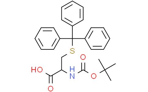 BOC-S-Trityl-L-半胱氨酸,99%