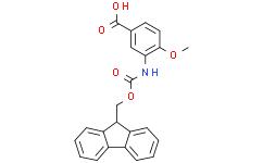 3-((((9H-Fluoren-9-yl)methoxy)carbonyl)amino)-4-methoxybenzoic Acid