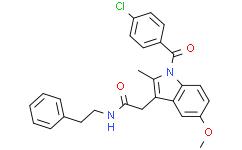 N-(2-phenylethyl)-Indomethacin amide