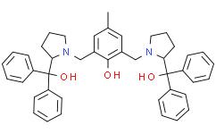 (S,S)-(+)-2,6-双[2-(羟基二苯甲基)-1-吡咯烷基-甲基]-4-甲基苯酚