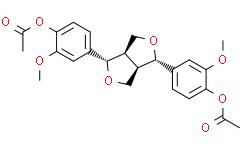 (+)-Pinoresinol diacetate