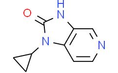 1-环丙基-1,3-二氢咪唑并[4,5-c]吡啶-2-酮