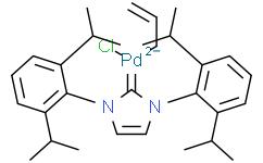 烯丙基[1,3-双(2,6-二异丙基苯基)咪唑-2-亚基]氯化钯(II)