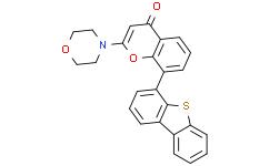 KU-57788(8-(4-二苯并噻吩基)-2-(4-吗啉基)-4H-1-苯并吡喃-4-酮)