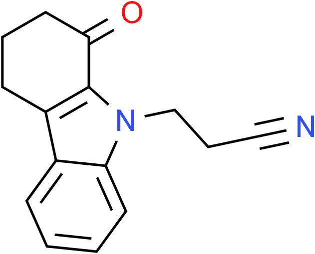 3-(1-Oxo-1,2,3,4-tetrahydro-9H-carbazol-9-yl)propanenitrile