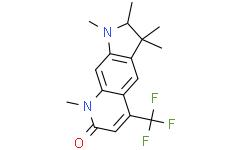 1,2,3,3,8-五甲基-5-(三氟甲基)-2,3-二氢-1H-吡咯并[3,2-g]喹啉-7(8H)-酮
