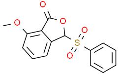 7-甲氧基-3-苯磺酰-1(3H)-异苯并呋喃酮