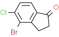 4-溴-5-氯-2,3-二氢-1H-茚-1-酮