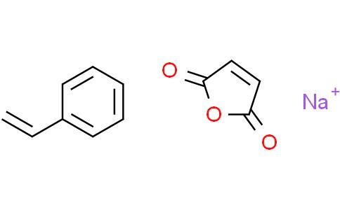 聚(4-苯乙烯磺酸-共聚-马来酸)钠盐,摩尔比率3:1