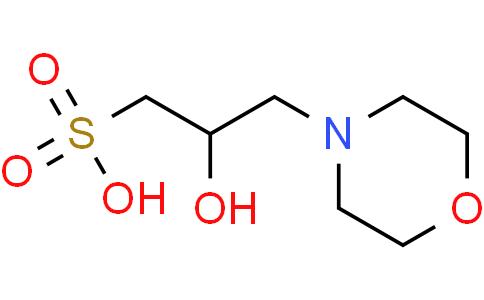 3-吗啉-2-羟基丙磺酸