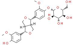 (+)松脂素-β-D-吡喃葡萄糖苷