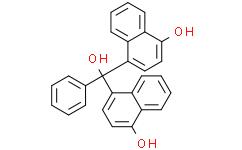 双(4-羟基-1-萘基)苯甲醇