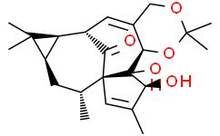 巨大戟醇-5,20-缩丙酮