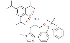 Nα-(2,4,6-三异丙苯基磺酰基)-O-(叔丁基二苯基甲硅基)-π-甲基-L-组氨醇