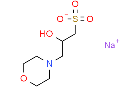 3-吗啉-2-羟基丙磺酸钠