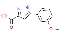 3-(2-甲氧基苯)-1H-吡唑-5-羧酸