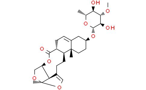 Glaucogenin C mono-D-thevetoside