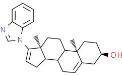 (3BETA)-17-(1H-苯并咪唑-1-基)雄甾-5,16-二烯-3-醇