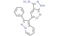5-(2-苯基吡唑并[1,5-a]吡啶-3-基)-1H-吡唑并[3,4-c]哒嗪-3-胺
