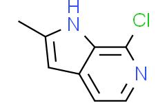 2-甲基-7-氯-1H-吡咯并[2,3-c]吡啶