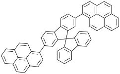 2,7-二(1-芘基)-9,9'-螺二[9H-芴]
