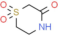 3-Thiomorpholinone, 1,1-dioxide