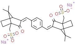 ((1,4-亚苯基双(亚甲基亚甲基))双(7,7-二甲基-2-氧代双环[2.2.1]庚烷-1-基-3-亚基))二甲磺酸钠