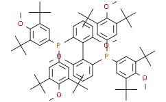 (S)-(+)二[双(3,5-二叔丁基-4-甲氧苯基)膦]--6,6'-二甲氧基-1,1'-联苯