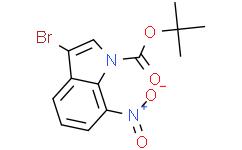 1-Boc-3-溴-7-硝基吲哚