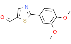 2-(3,4-二甲氧基苯基)噻唑-5-甲醛