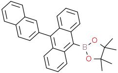 4,4,5,5-四甲基-2-[10-(2-萘基)蒽-9-基]-1,3,2-二氧杂环戊硼烷