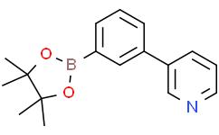 3-[3-(4,4,5,5-四甲基-1,3,2-二氧代硼戊环-2-基)苯基]吡啶