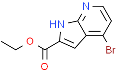 4-溴-1H-吡咯并[2,3-B]吡啶-2-甲酸乙酯
