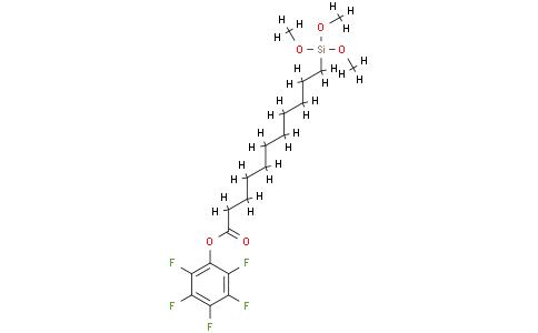 10-(Pentafluorophenoxycarbonyl)decyltrimethoxysilane